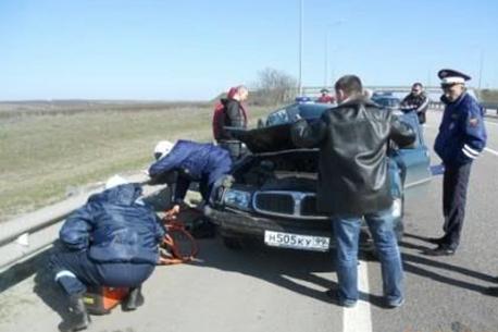 М4 Дон 815 км ДТП авария Ростовская область 16.04.2013