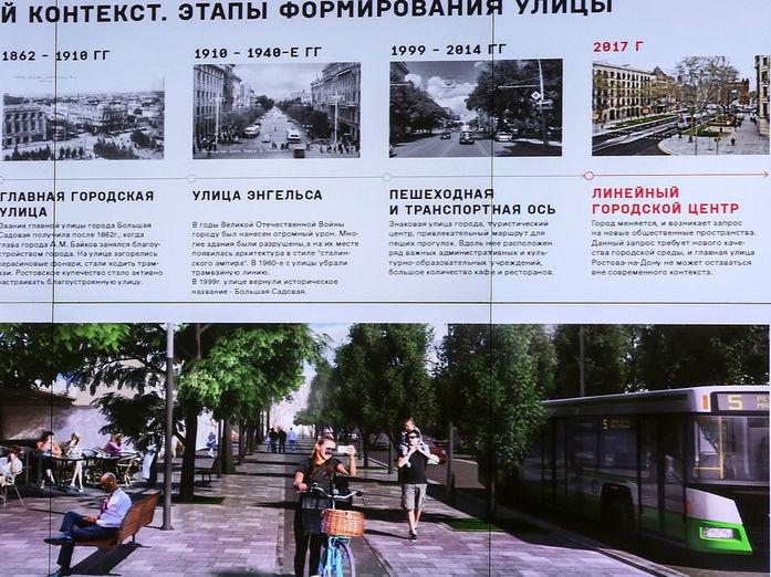 Дизайн-проект обновленной Большой Садовой покажут уже в апреле