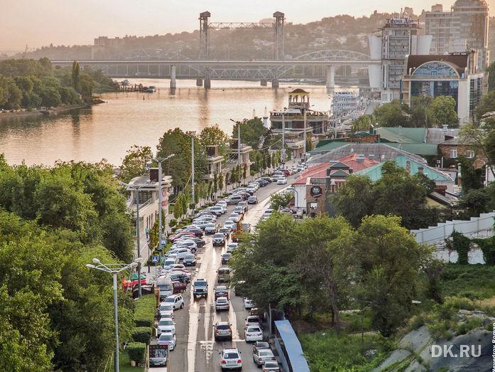 На День города ограничат движение в центре Ростова