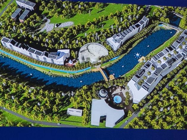 На берегу Темерника в Ростове планируют построить гостиничный комплекс за 4,5 млрд рублей