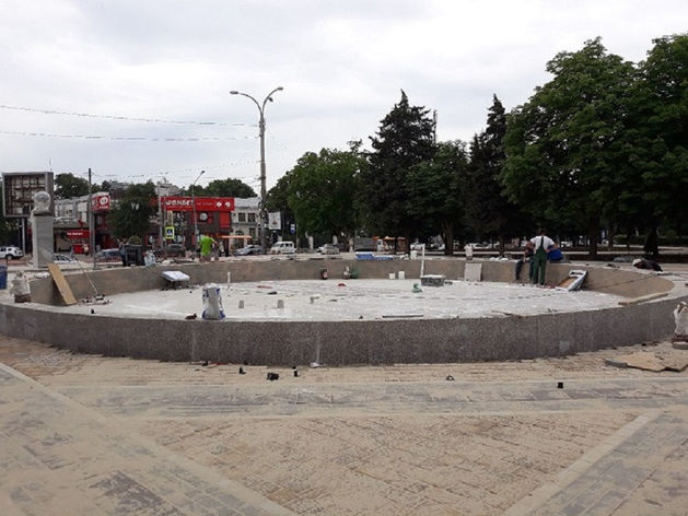 Уникальный фонтан и позитив: какой станет площадь Гагарина в Ростове после ремонта