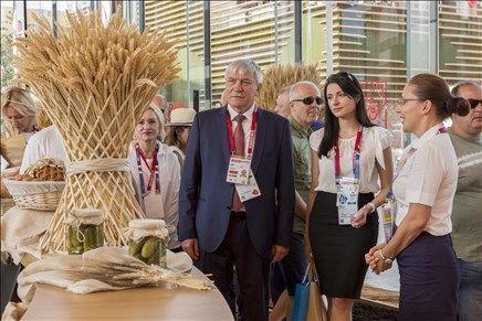 На выставке «Экспо-2015» дали высокую оценку продукции Дона