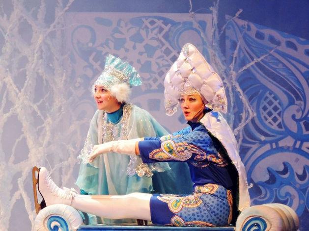 29-30 декабря в ростовском театре драмы им. Горького представят детскую сказку «Мороз Иванович»