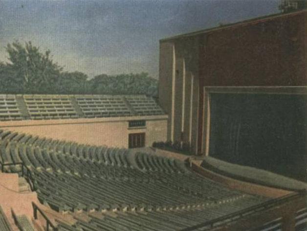 Когда-то Зеленый театр был таким