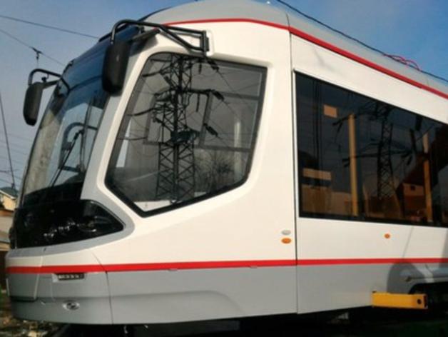 Первый низкопольный трамвай прибыл в Ростове