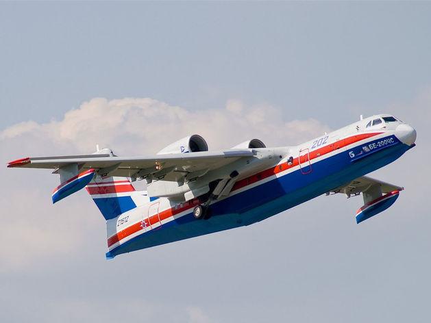 Самолет-амфибию Бе-200 выпустят в Таганроге