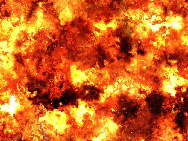 Прогремел взрыв на Амилко в Миллерове