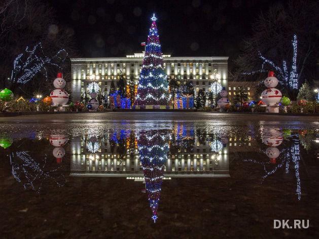 фотографии города ростова на дону новогоднего душистая