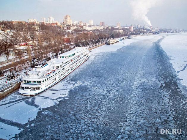 Ростовский морской порт объявил дату введения ограничений по режиму ледового плаванья