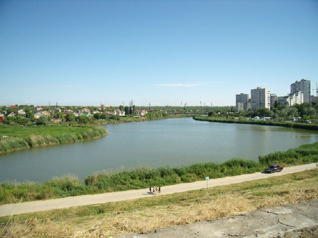 Проект линейного парка вдоль реки Темерник рассмотрят в марте