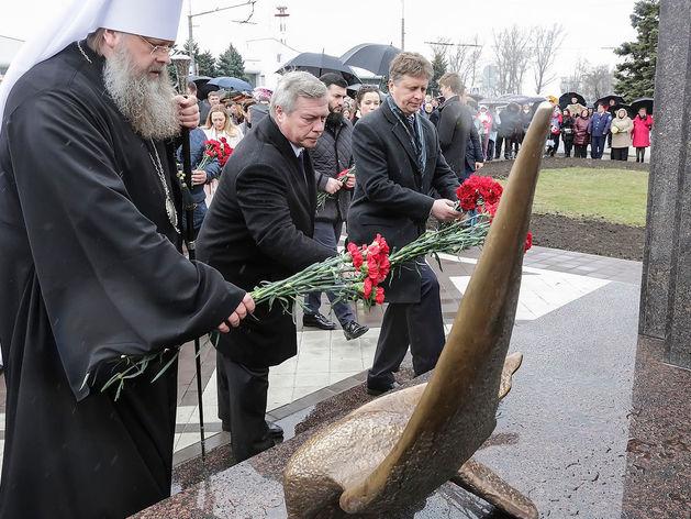 Мемориал погибшим в авиакатастрофе самолета FlyDubai открыли в Ростове