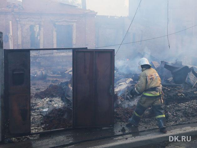 Всего лишь 3% сгоревших домов при пожаре в Ростове было застраховано