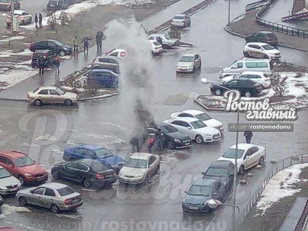 В Ростове взорвался автомобиль с местным предпринимателем