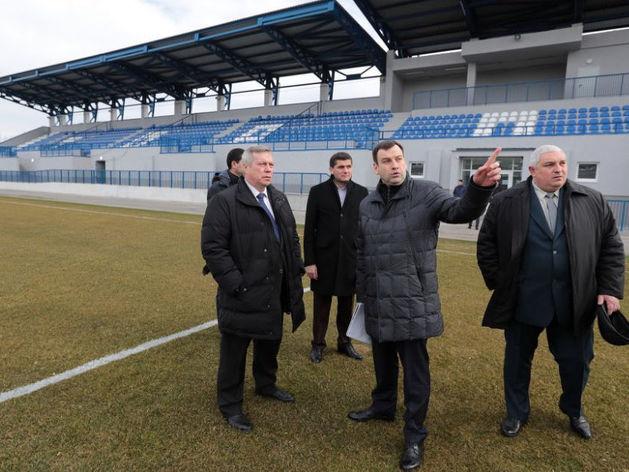 В Ростовской области сдали первую тренировочную площадку к ЧМ-2018