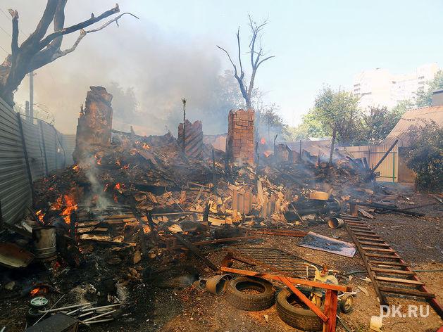 Не поджог: Названы виновные в пожаре в районе Театральной площади в Ростове