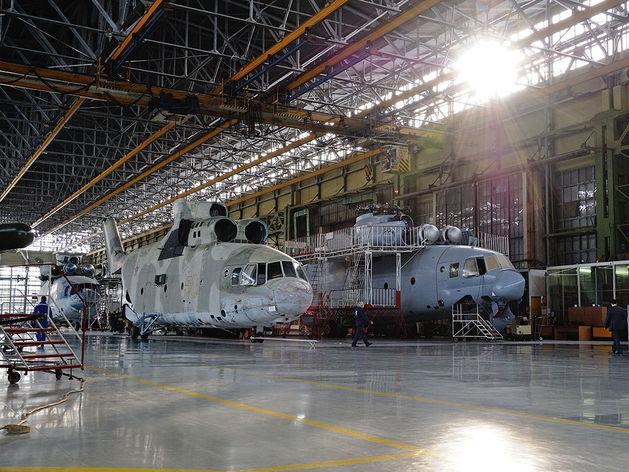 На строительство вертолетного кластера в Батайске в 2018 году выделили 1 млрд рублей