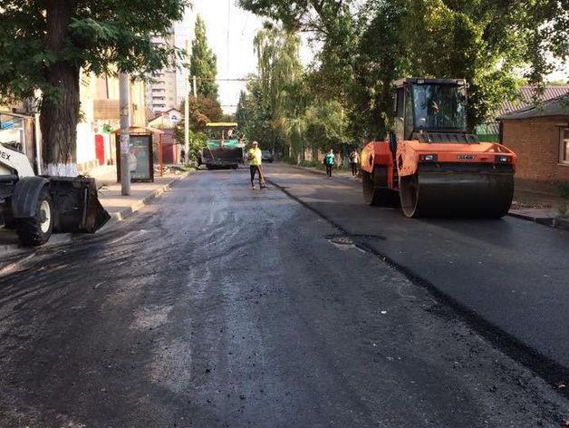 Ремонт дорог в Ростове продлили до ноября